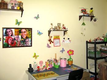 Meu atelier no início!