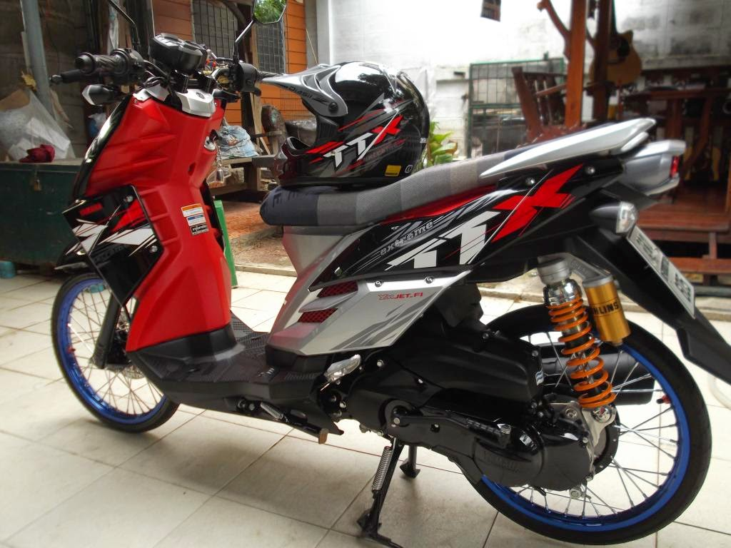 Modifikasi Motor Matic