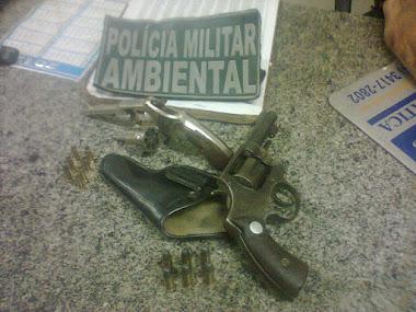 Apreenção de armas pela CIPAM- Caicó