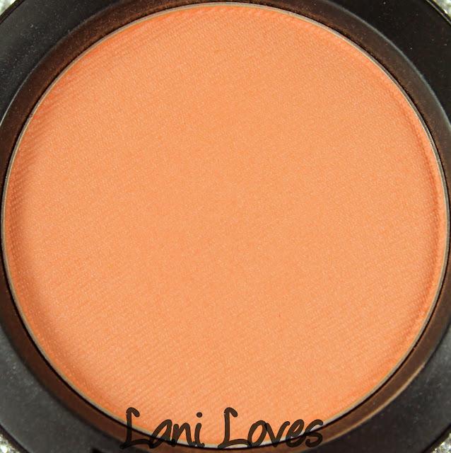 MAC Modern Mandarin Blush Swatches & Review