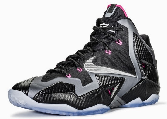 ajordanxi\u0026#39;s Sneaker World: Nike LeBron 11 \u0026quot;Miami Nights\u0026quot; Black/Metallic Silver-Dark Grey-Pink Flash Release Reminder
