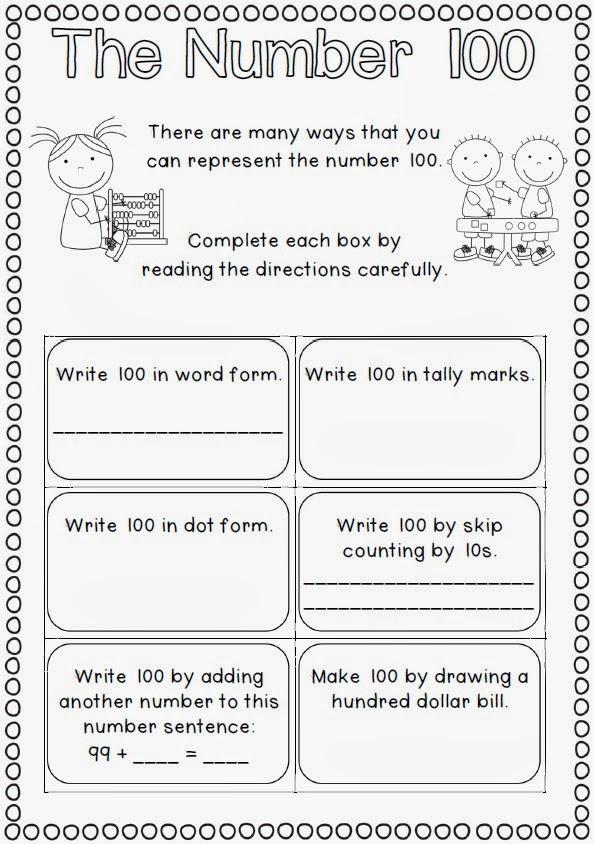 100 Day Worksheets Kindergarten Kindergarten Worksheets Word – 100th Day Worksheets Kindergarten
