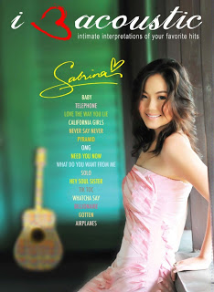 Download Full Album IV Sabrina - I Love Acoutsic 3