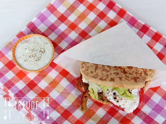 Kebab - Doener - mit Seitan und Aioli-Mayonnaise #vegan - Freude am Kochen
