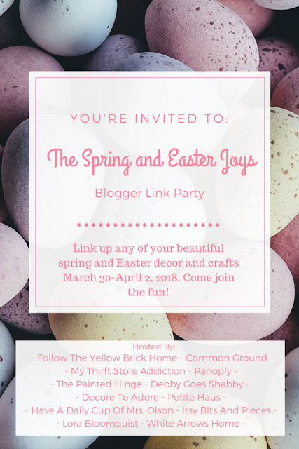 The Spring and Easter Joys Blogger Link Party