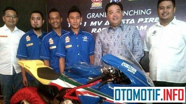 Tim Balap MV Agusta Hadir dengan Amunisi Handal di IRS, otomotif info