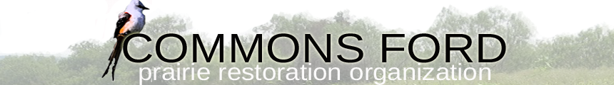 Commons Ford Prairie Restoration Organization