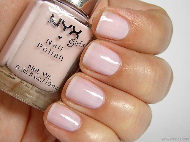 NYX Girls Nail Polish in Drop of Dew