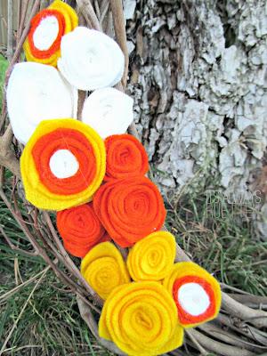 Candy Corn Wreath from It's Always Ruetten