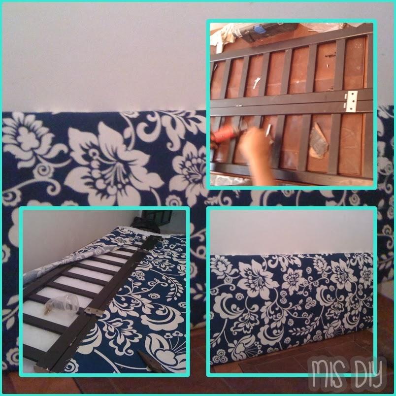 Mis hazlo tu misma cabecera diy for Como hacer una cama japonesa paso a paso