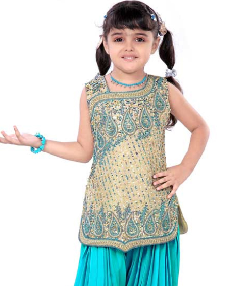 Salwar Kameez for Kids - Makeup and Beauty Collections