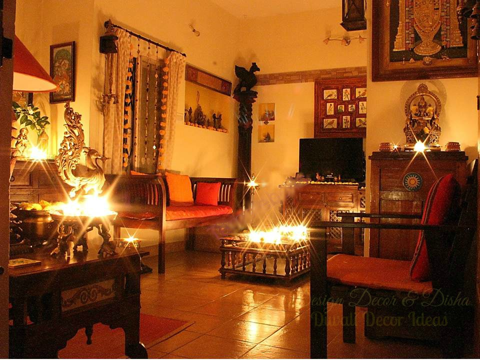 Design decor disha an indian design decor blog for Home decorations ideas for diwali