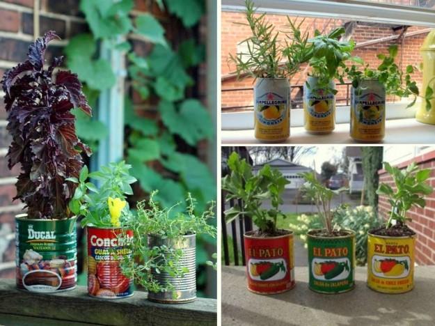 Il mondo in un giardino: Idee per vasi riciclosi