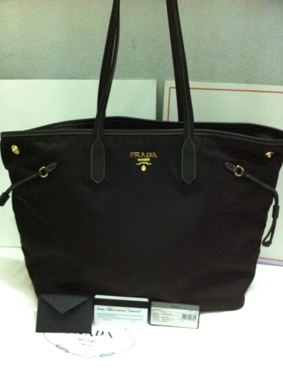 sale prada handbag - Authentic Luxury Items @ Bargain Price: NWT Prada BR4662 Tessuto ...