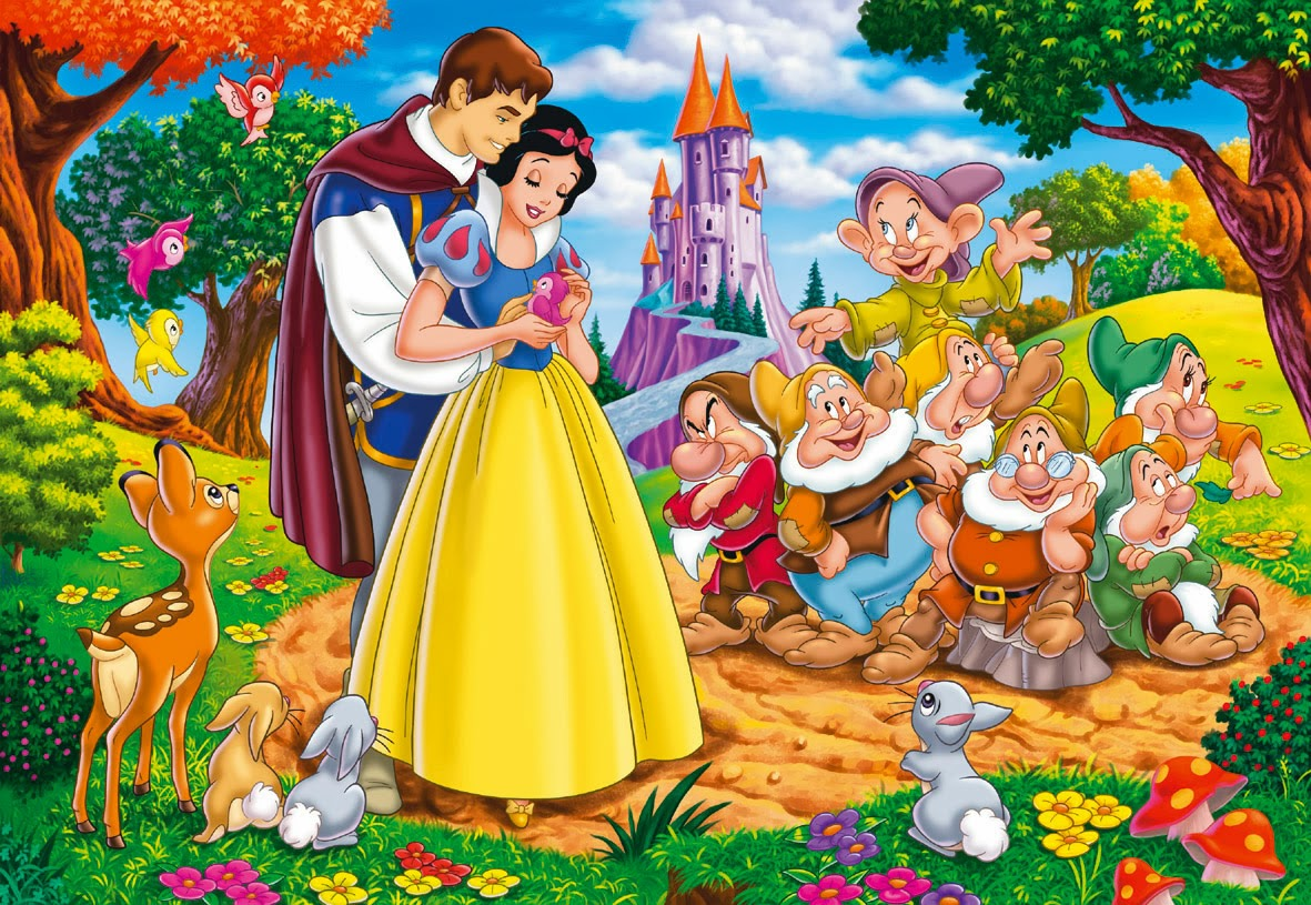Blancanieves y los 7 enanitos cuentos para ni os - Casa de blancanieves y los 7 enanitos simba ...