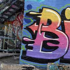 2-Graffiti Letter B In The Year 2011