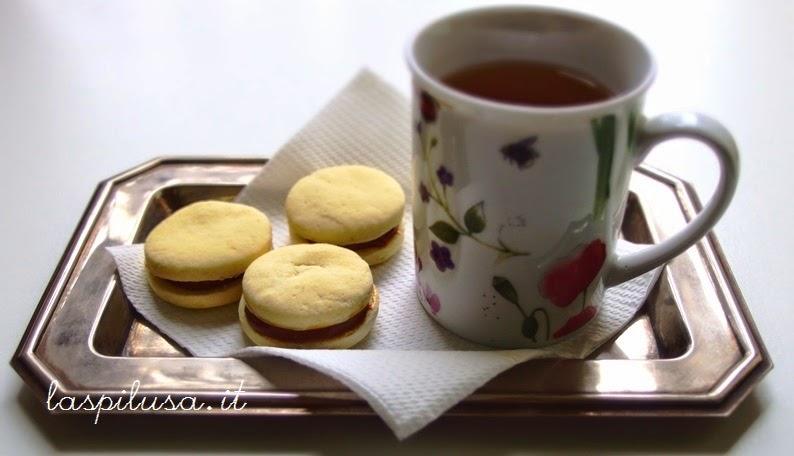 Alfajores, biscotti argentini con dulce de leche
