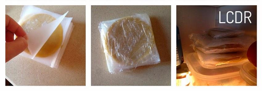 Cómo empaquetar la masa de las empanadillas