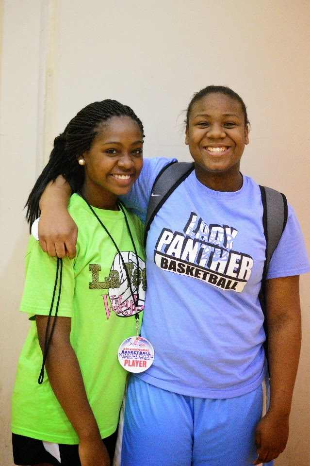 Waco Lady Panthers duo