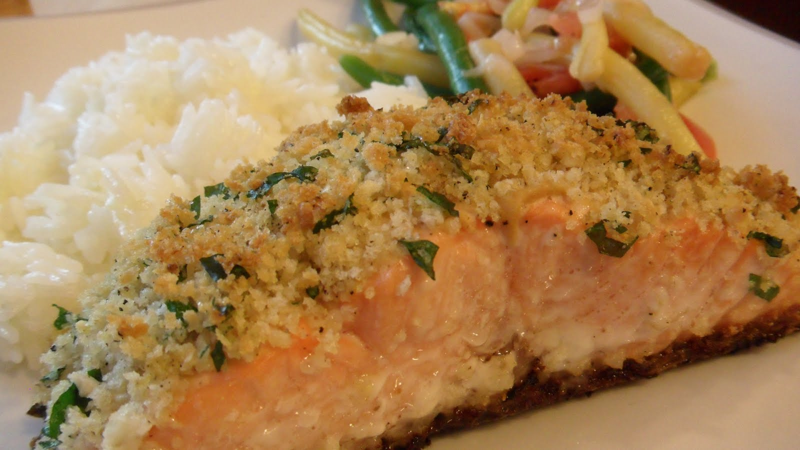 Panko Crusted Salmon « Well Dined
