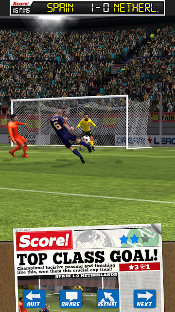 Score World Goals Android