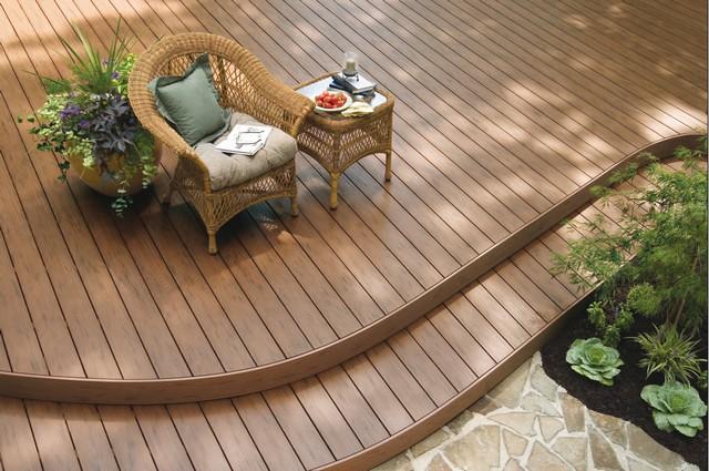 Deck Patio Terraza De Madera Patios Y Jardines