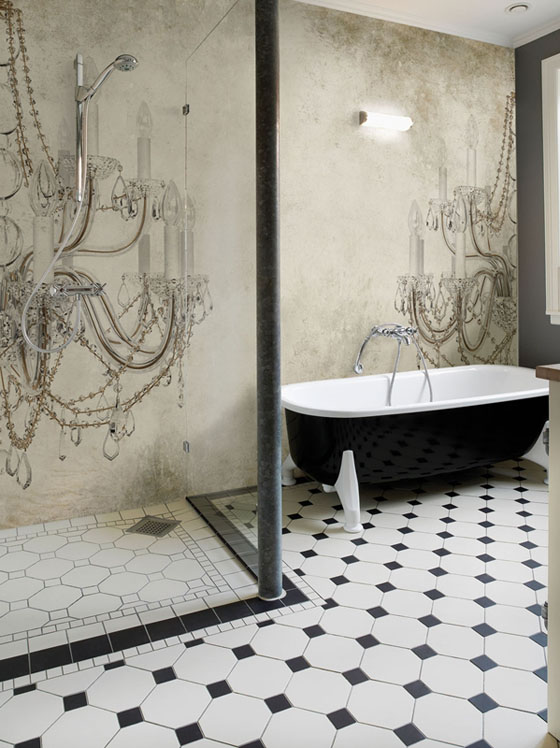 Wallpaper ideas for bathrooms joy studio design gallery - Wallpaper for bathrooms ideas ...