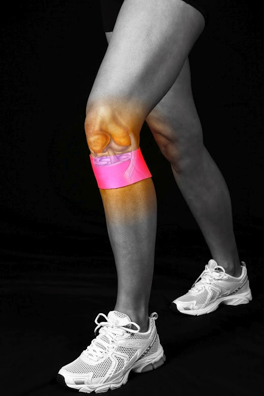 Knee Support - Compression treatment of Knee Pain