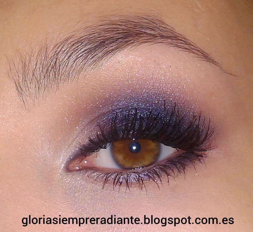 Siempre radiante colaboraci n maquillaje manicura fin de a o en tonos morados - Diva noche reviews ...
