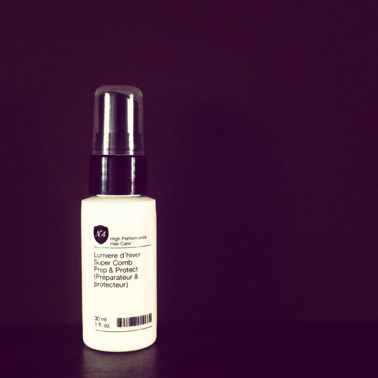 Spray Protector de Number 4. ¡Para darle cuerpo al cabello!