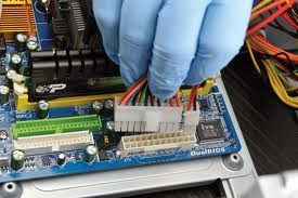 cara repair motherboard rusak