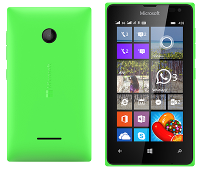 Microsoft Lumia 435 Dual SIM complete specs and features