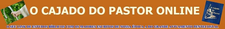 O CAJADO DO PASTOR ONLINE