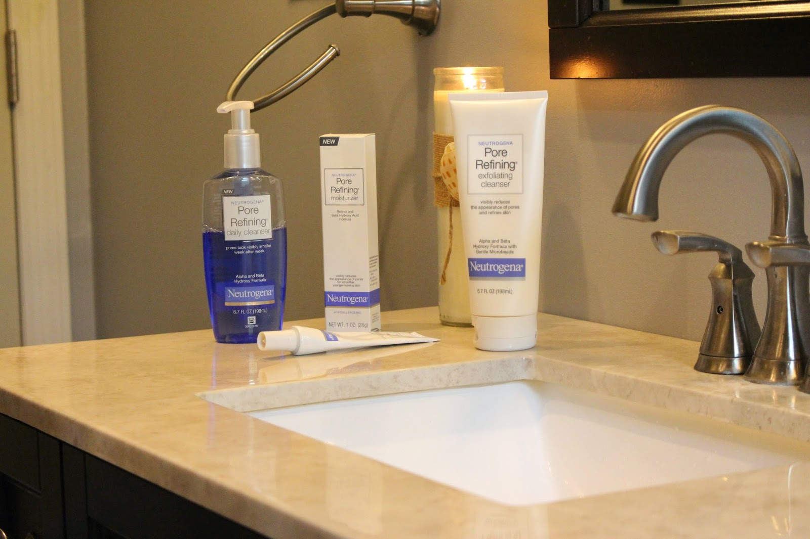 neutrogena pore refining line review, neutrogena pore refining cleanser, neutrogena anti-aging skin care