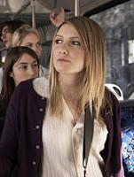 Women taking a public transportation bus