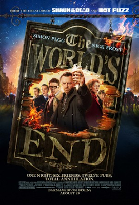 The World's End ,Poster, San Diego Comic Con, SDCC, Geek-Grotto