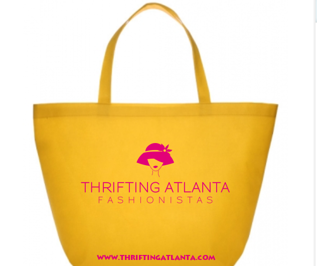Buy the Official Thrifting Atlanta Tote Bag!