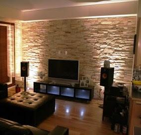 Arquitectura decoracion y mas piedra - Piedra decorativa interior ...