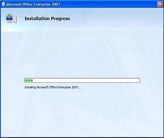 Cara Instal Microsoft Office 2007