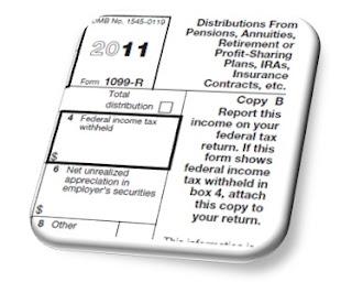 ed slott IRS form 1099-r tax planning