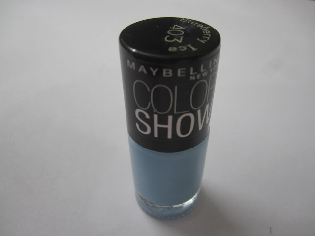 Maybelline Color Show in Blueberry Ice