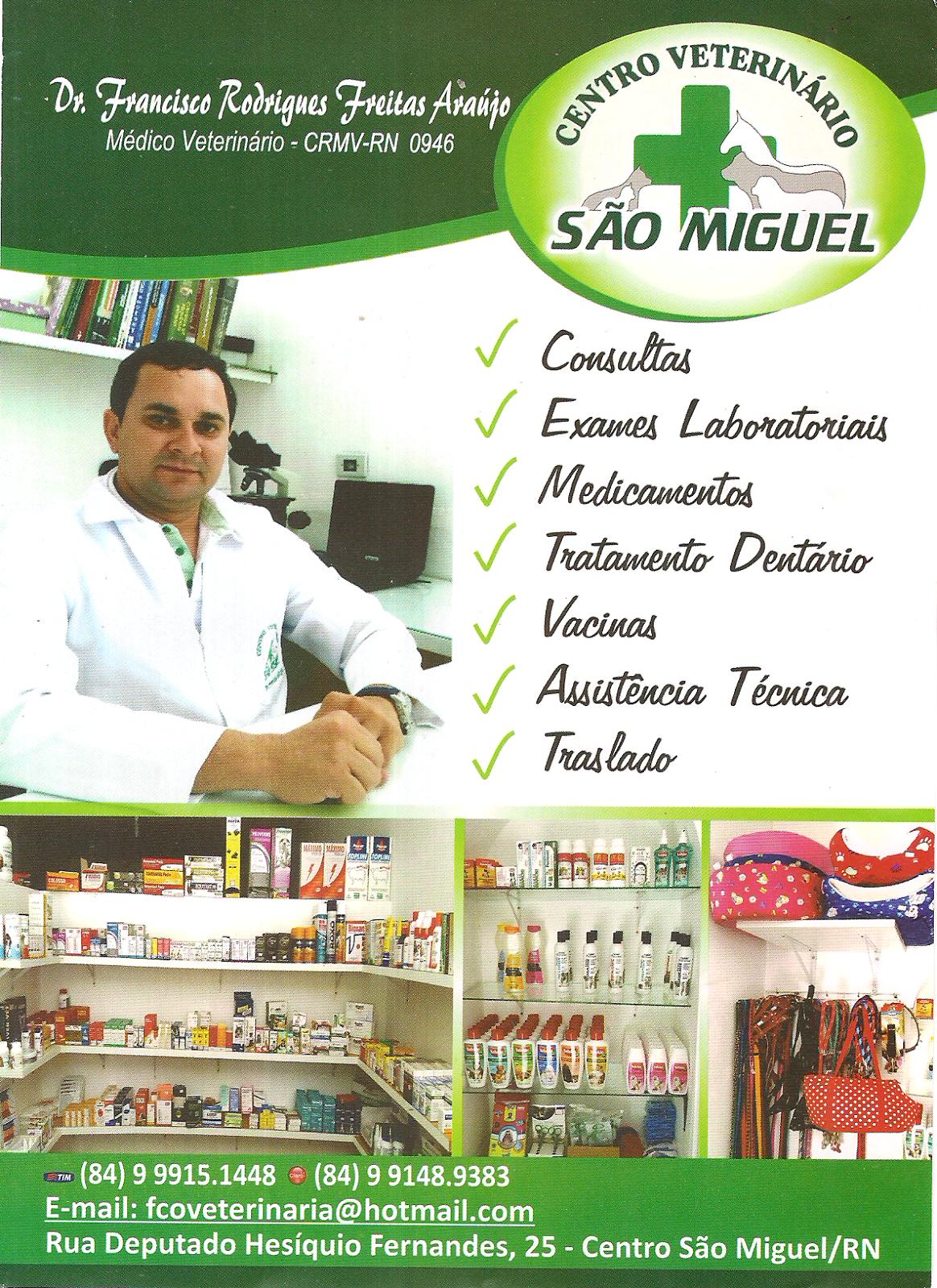 CENTRO VETERINÁRIO SÃO MIGUEL
