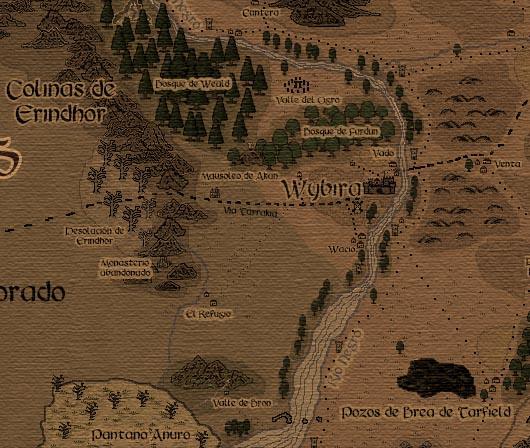 Laboratorio friki Carrusel Bloguero Mapas en los juegos de rol