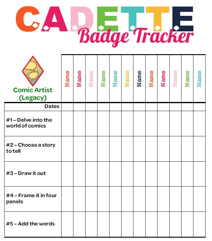 Junior Girl Scout Badge Worksheets | Healthier Badge Worksheet ...