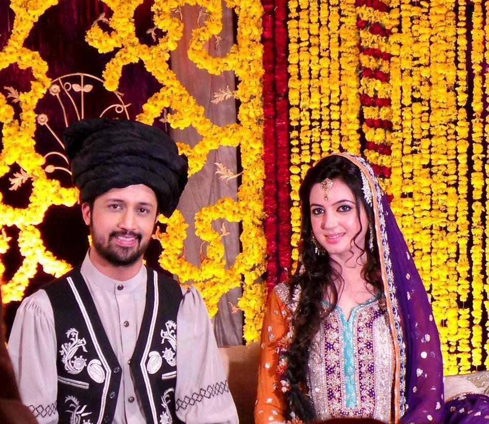 Atif Aslam Mehndi Pics Album 4 Wedding Styles