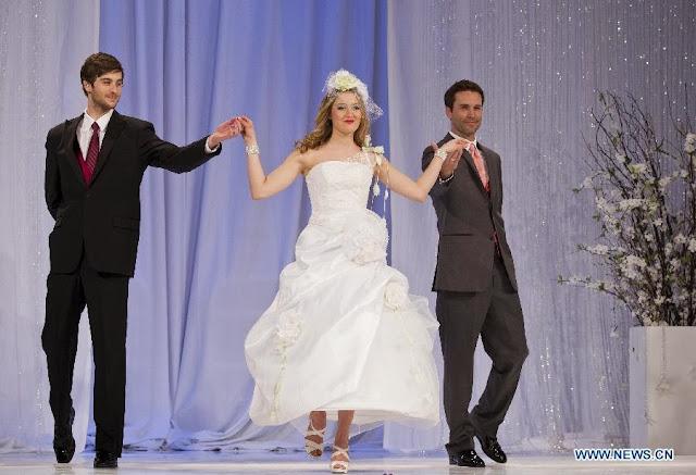 Wedding Dresses Presented at 2013-2014 Toronto's Bridal Show 2013-2014 Xinhua