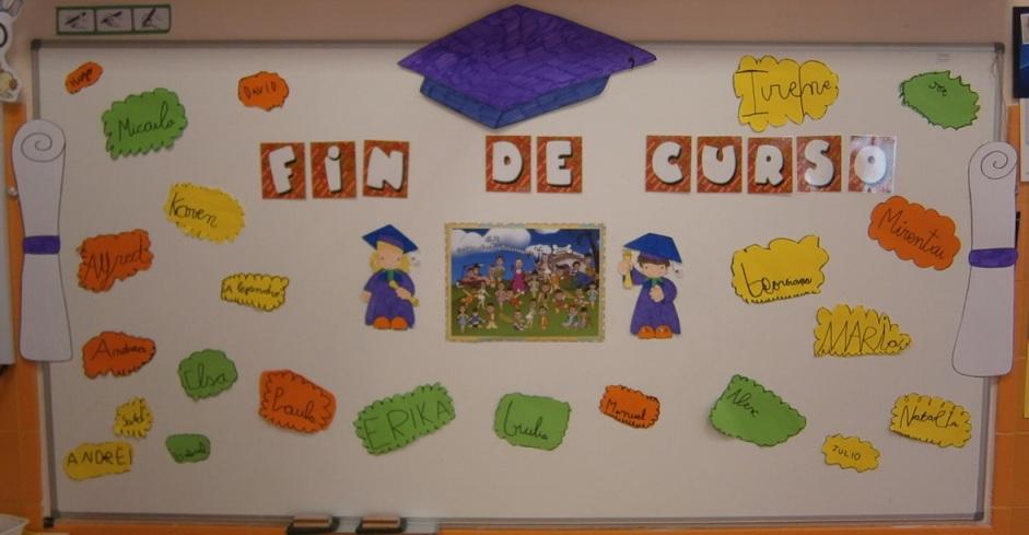 Imagenes De Periodico Mural De Graduados En Preescolar