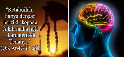 zikir dapat mengaktifkan otak
