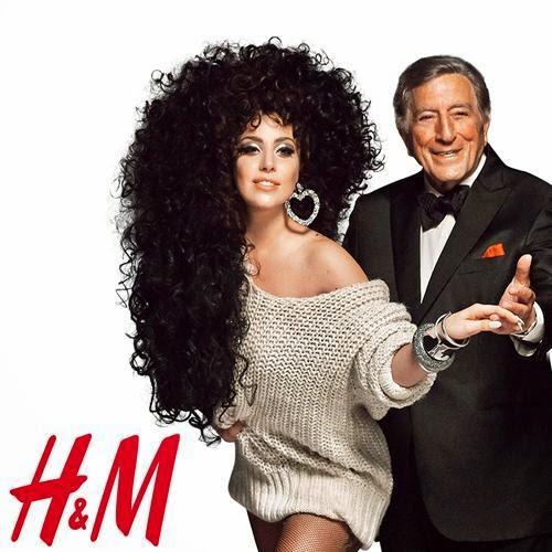 Lady Gaga y Tony Bennett para H&M