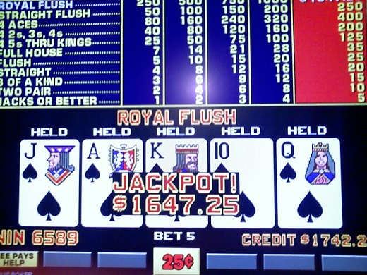 Wynn Casino Video Poker Progressive